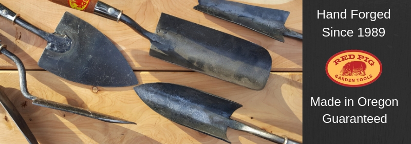 Hand Forged Garden Tools by Red Pig Garden Tools
