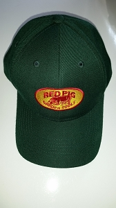 Red Pig Hat