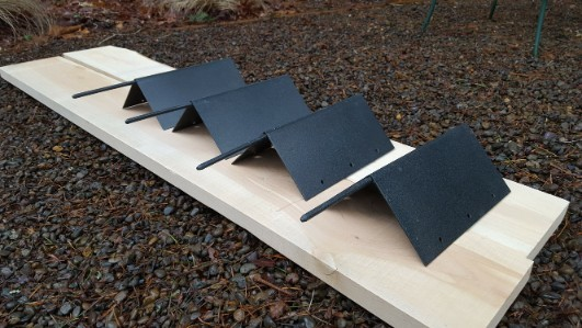 Clackamas Corners Raised Garden Bed Brackets Set (4 pieces)